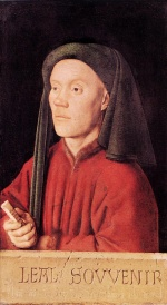 Jan van Eyck - Bilder Gemälde - Portrait of a Young Man (Tymotheos)