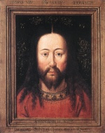 Jan van Eyck - Bilder Gemälde - Portrait of Christ
