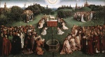 Jan van Eyck - Bilder Gemälde - Adoration of the Lamb