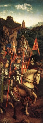 Jan van Eyck - Bilder Gemälde - The Soldiers of Christ