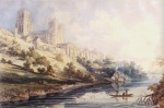 Thomas Girtin - Bilder Gemälde - Durham Cathedral and Castle