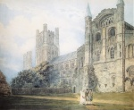 Thomas Girtin - Bilder Gemälde - Ely Cathedral from the South-East