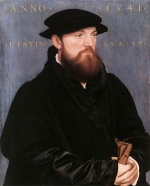 Hans Holbein - paintings - De Vos van Steenwijk