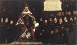 Hans Holbein - paintings - Henry VIII and the Barber Surgeons