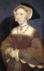 Hans Holbein - paintings - Jane Seymour Queen of England