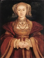 Hans Holbein - paintings - Portrait of Anne of Cleves