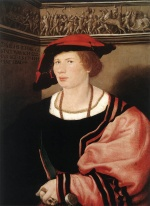 Hans Holbein - paintings - Portrait of Benedikt von Hertenstein