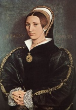 Hans Holbein - paintings - Portrait of Catherine Howard