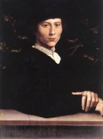 Hans Holbein - paintings - Portrait of Derich Born