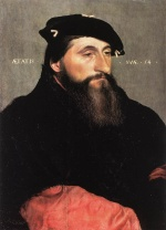 Hans Holbein - Bilder Gemälde - Portrait of Duke Anton the Good of Lorraine