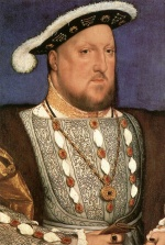 Hans Holbein - paintings - Portrait of Henry VIII