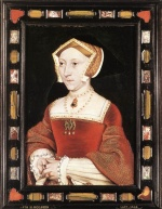 Hans Holbein - paintings - Portrait of Jane Seymour