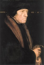 Hans Holbein - paintings - Portrait of John Chambers