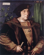 Hans Holbein - paintings - Portrait of Sir Henry Guilford