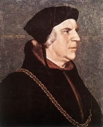 Hans Holbein - paintings - Portrait of Sir William Butts