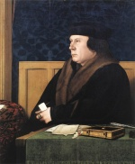 Hans Holbein - paintings - Portrait of Thomas Cromwell