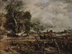John Constable - paintings - The Leaping Horse