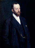 Peder Severin Kroyer  - Bilder Gemälde - Portrait of a Gentleman