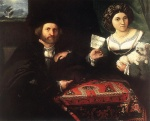 Lorenzo Lotto - Bilder Gemälde - Husband and Wife