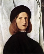 Lorenzo Lotto - Bilder Gemälde - Portrait of a Man