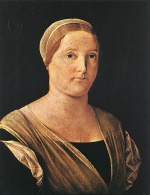 Lorenzo Lotto - Bilder Gemälde - Portrait of a Women