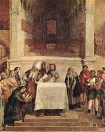Lorenzo Lotto - Bilder Gemälde - Presentation of the Temple