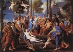Nicolas Poussin - Bilder Gemälde - Apollo and the Muses