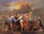 Nicolas Poussin - Bilder Gemälde - Dance of the Music of Time