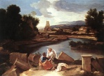 Nicolas Poussin - Bilder Gemälde - Saint Matthew and the Angel