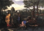 Nicolas Poussin  - Bilder Gemälde - The Exposition of Moses