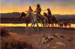 Charles Marion Russell - paintings - Rcarsons Men
