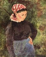 Camille  Pissarro - paintings - Baeuerin
