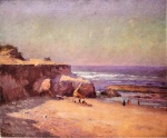 Theodore Clement Steele - Bilder Gemälde - On the Oregon Coast
