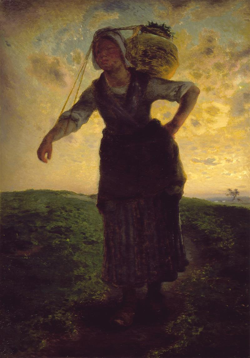 A Norman Milkmaid at Greville