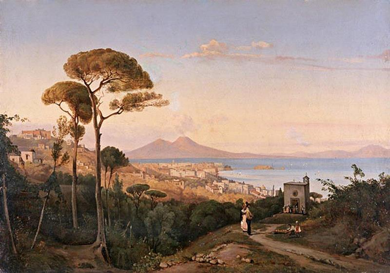 A View of Naples, Italy