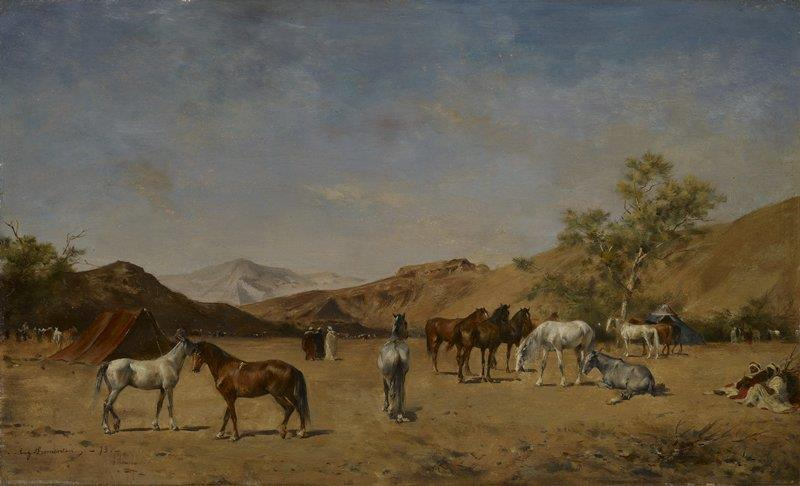 An Arabian Camp