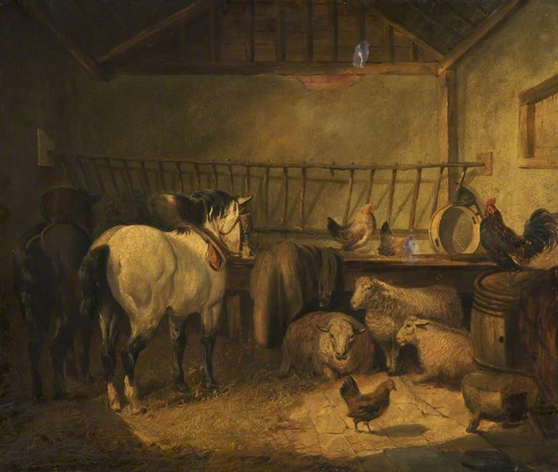 Animals in a Stable