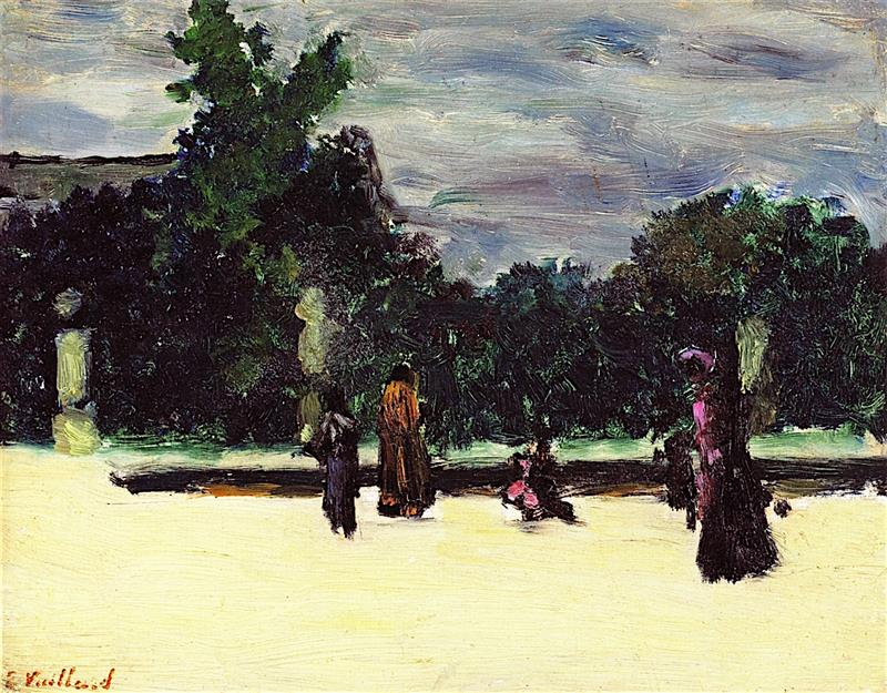 Around the Pool, The Tuileries