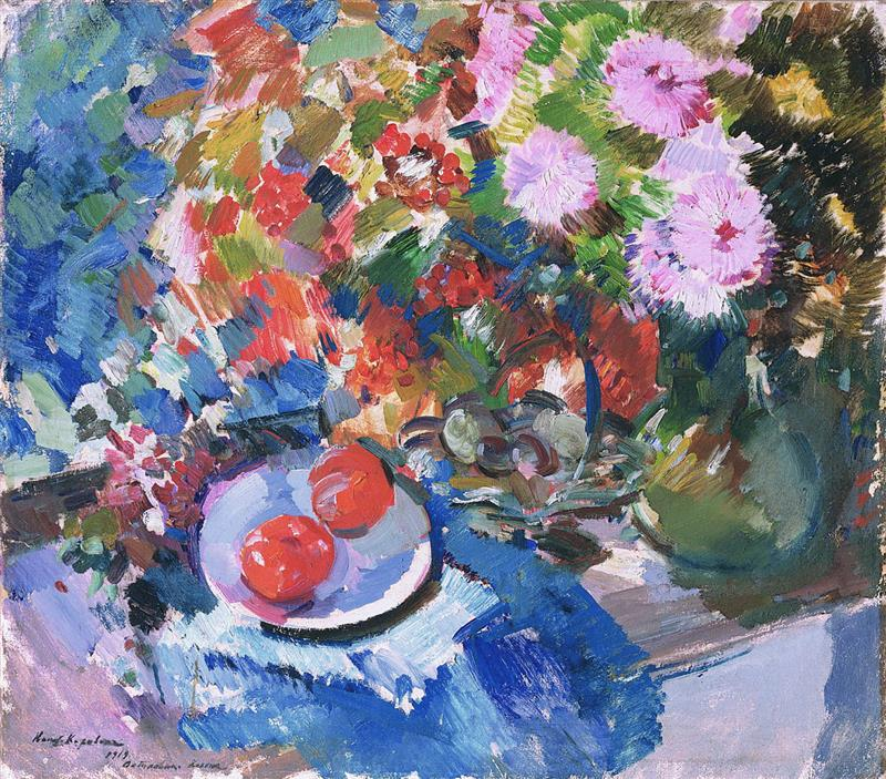 Asters and Tomatos
