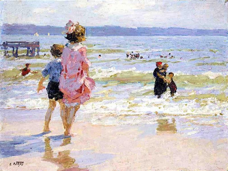 At the Seashore