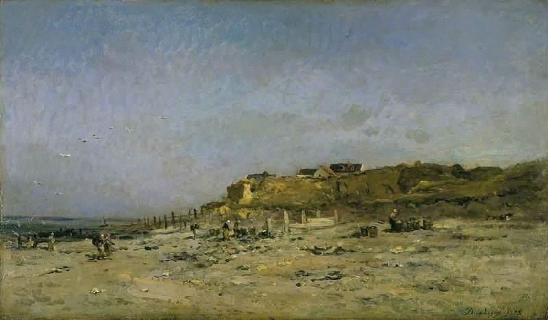Beach at Villerville, Normandy