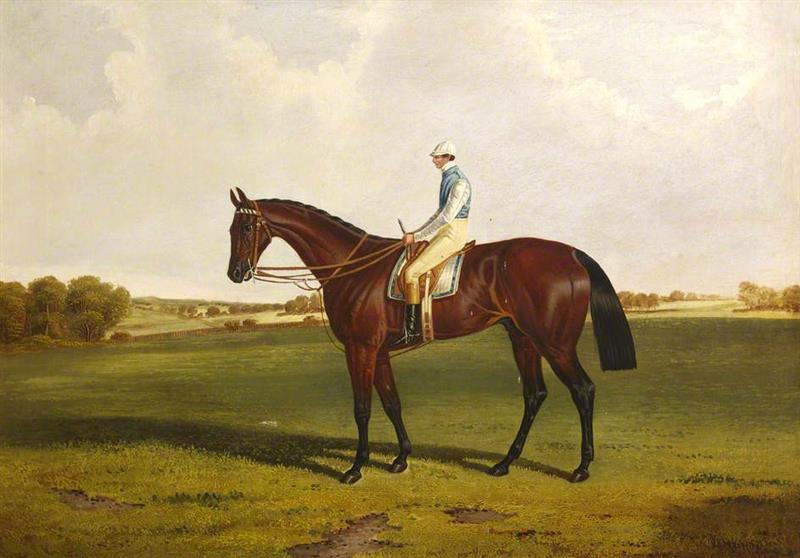 Bloomsbury with S. Templeman Up, in the Colours of the Owner and Trainer, W. Ridsdale