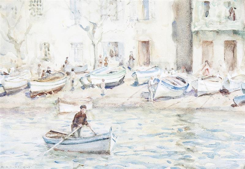 Boats at Cassis