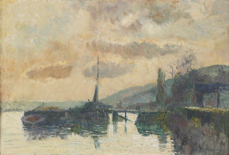 Boats in Dieppe