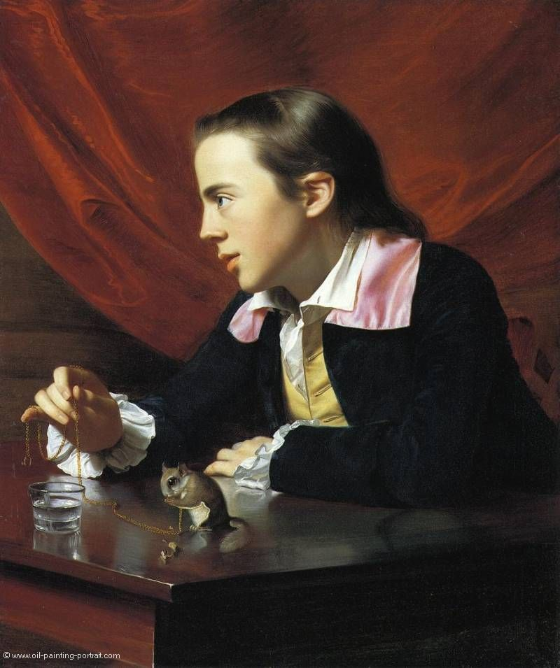 Boy with a Squirrel (Henry Pelham)