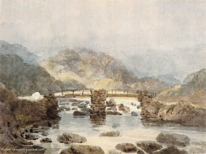 Bridge near Beddgelert (Snowdonia)