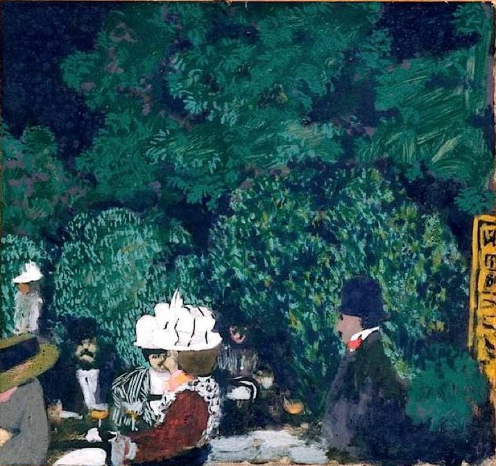 Café in the Bois de Boulogne