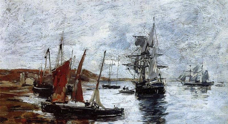 Camaret, Boats on the Shore