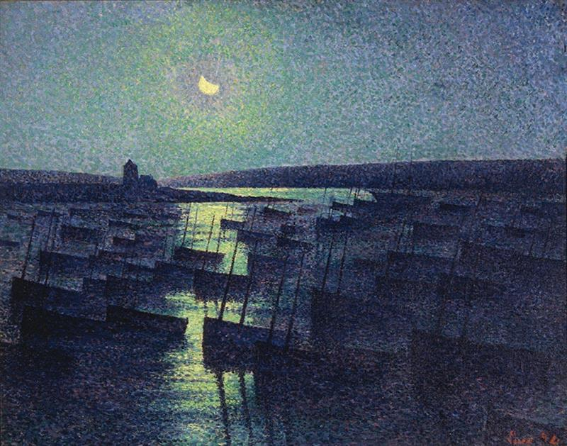 Camaret, Moonlight and Fishing Boats