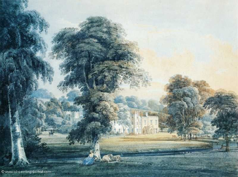 Chalfont House (Buckinghamshire with a Sheepherdes)
